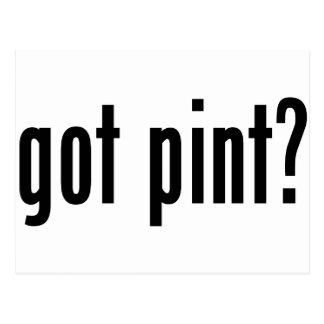 got pint? postcard