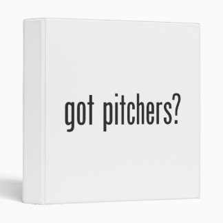 got pitchers vinyl binders