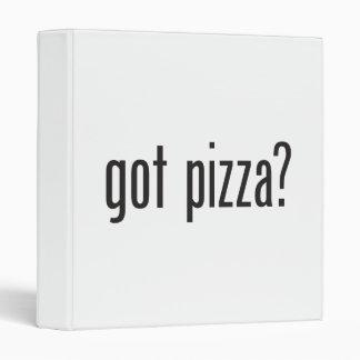 got pizza vinyl binder
