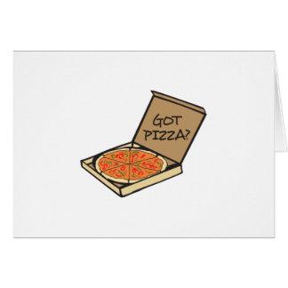 GOT PIZZA CARD