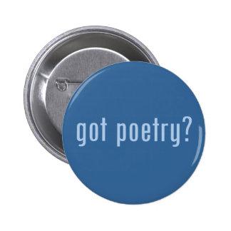 got poetry? 2 inch round button