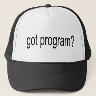 got program arial narrow jjpeg trucker hat