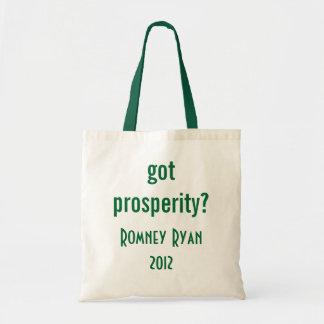 got prosperity? tote bag