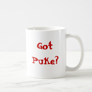Got Puke? Coffee Mug