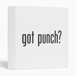 got punch binders