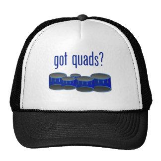 Got Quads? Mesh Hats