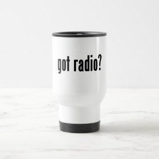 got radio? travel mug