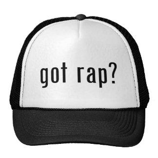 got rap? trucker hat