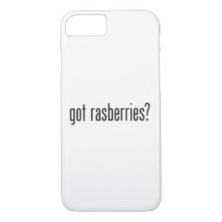got rasberries iPhone 7 case
