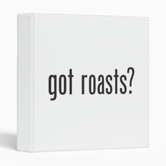 got roasts 3 ring binders