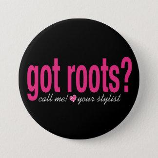 got roots? Button