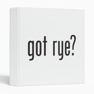 got rye 3 ring binder