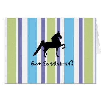 Got Saddlebred? Greeting Card