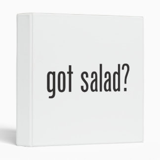 got salad vinyl binder