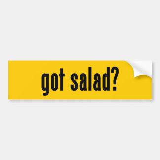 got salad? bumper sticker