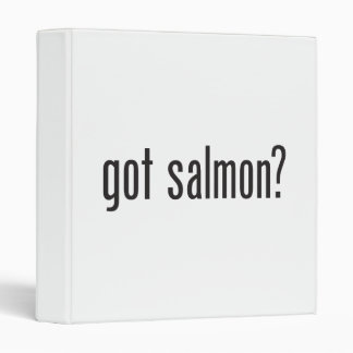 got salmon vinyl binders