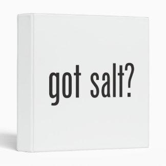 got salt vinyl binder