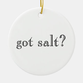 got salt?/got lime? ornament