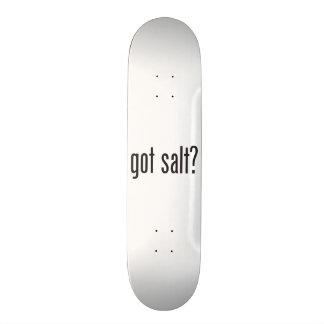 got salt skate deck