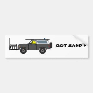 GOT SAND ? BUMPER STICKER