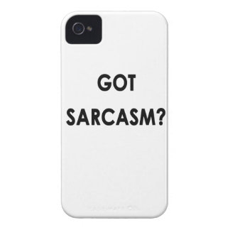Got Sarcasm funny great gift iPhone 4 Case