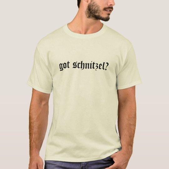 got schnitzel? website T-Shirt