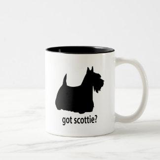 Got Scottish Terrier Two-Tone Coffee Mug