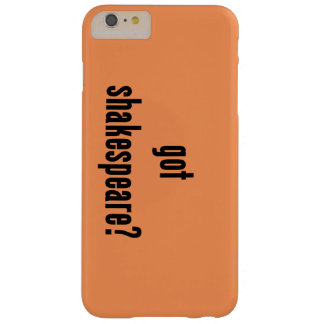 got shakespeare? barely there iPhone 6 plus case