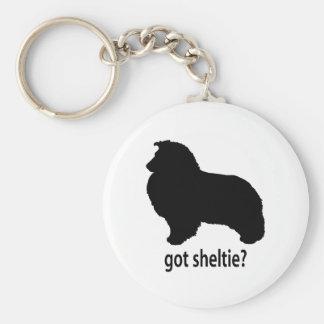 Got Sheltie Keychain