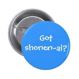 Got shonen-ai? 2 inch round button