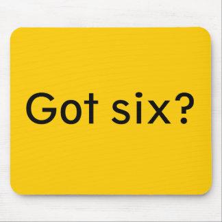 Got six? mouse pad