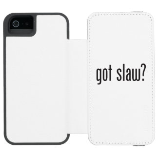 got slaw incipio watson™ iPhone 5 wallet case