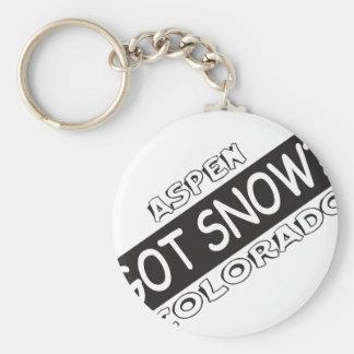 Got Snow - Aspen Keychain