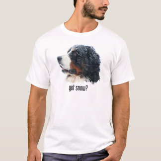got snow? Bernese Mountain Dog T-Shirt