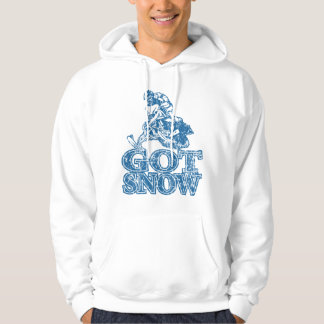 Got-Snow-Distressed-Blue Hoodie