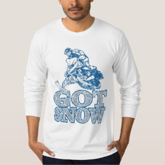 Got-Snow-Distressed-GreyBlu T-Shirt