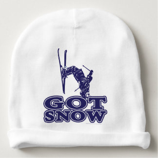 Got Snow Snow Skier Baby Beanie