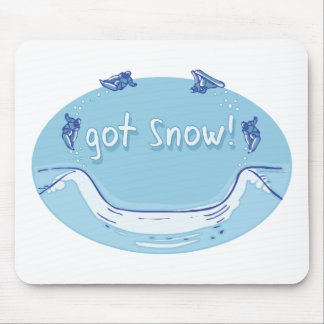 Got Snow Snowboarding T-shirts Gifts Mouse Pad