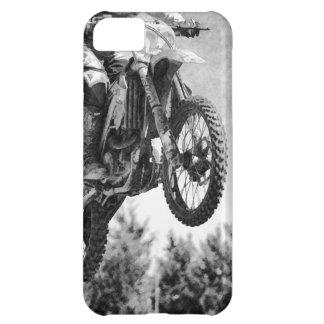 """Got Some Air!"" Motocross Dirt-Bike Racers iPhone 5C Cases"