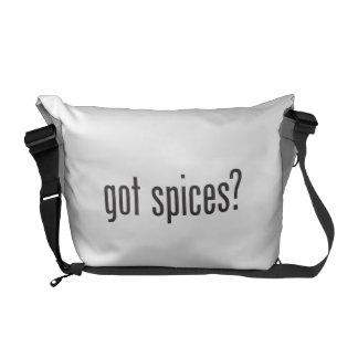got spices commuter bags