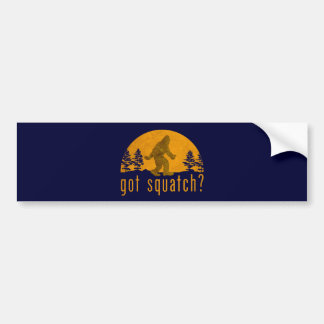 Got Squatch? Vintage Bumper Sticker