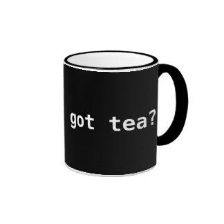 got tea? Funny Political Ringer Coffee Mug