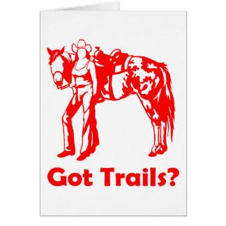 GOT TRAILS CARD