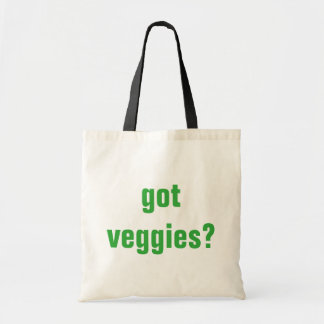 Got Veggies? ~ garden tote ~ shopping bag ~ funny
