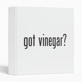 got vinegar 3 ring binder