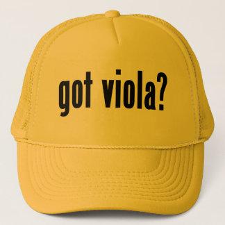 got viola? trucker hat
