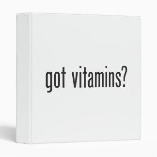 got vitamins binder