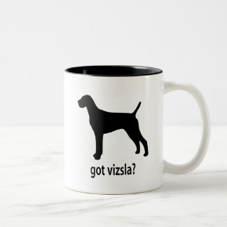 Got Vizsla Two-Tone Coffee Mug