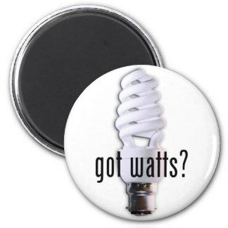 Got Watts? Magnet