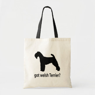 Got Welsh Terrier Tote Bag